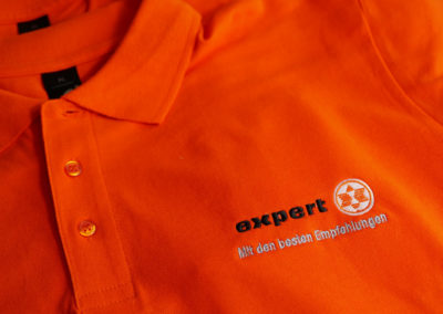 Besticktes Poloshirt für Expert